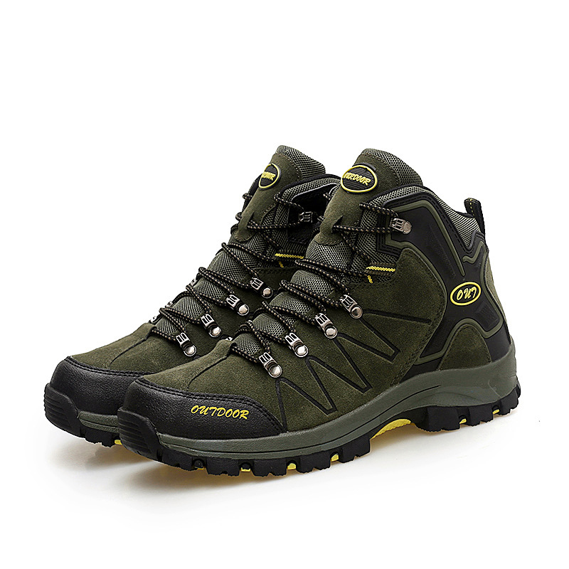 Green Color Winter Men Casual Shoes Men Flock Leather Warm Shoes Outdoor Sports Chaussure Homme Men Casual Shoes erkek ayakkabi simple men s casual shoes with criss cross and color block design
