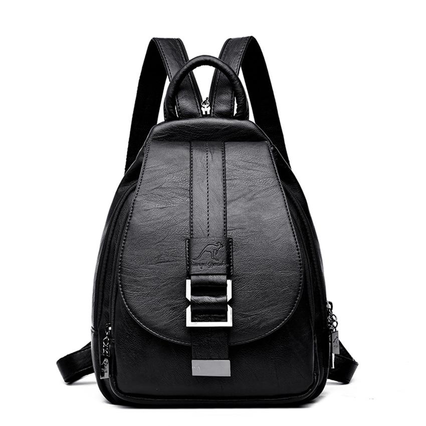 HTB1KcSaXUjrK1RkHFNRq6ySvpXa1 New 2018 Women Leather Backpacks Vintage Shoulder Bag Winter Female Backpack Ladies Travel Backpack Mochila School Bags For Girl