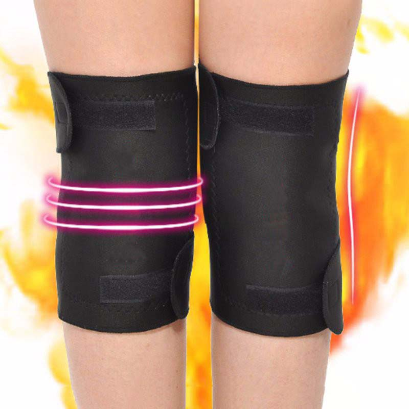 Magnetic Therapy Kneepad Double Knee Support Self Heating Brace kneepad Elbow Knee Brace Protector