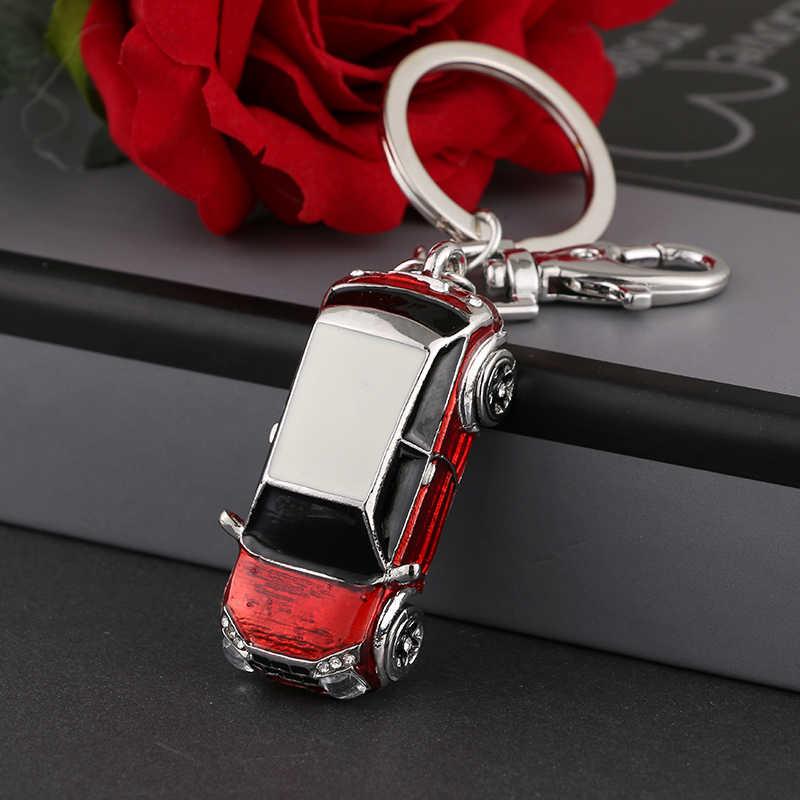 Moda liga chave do carro pingente cadeia mulheres charme bolsa pingente de cristal pequenos acessórios do carro de luxo modelo ysk072