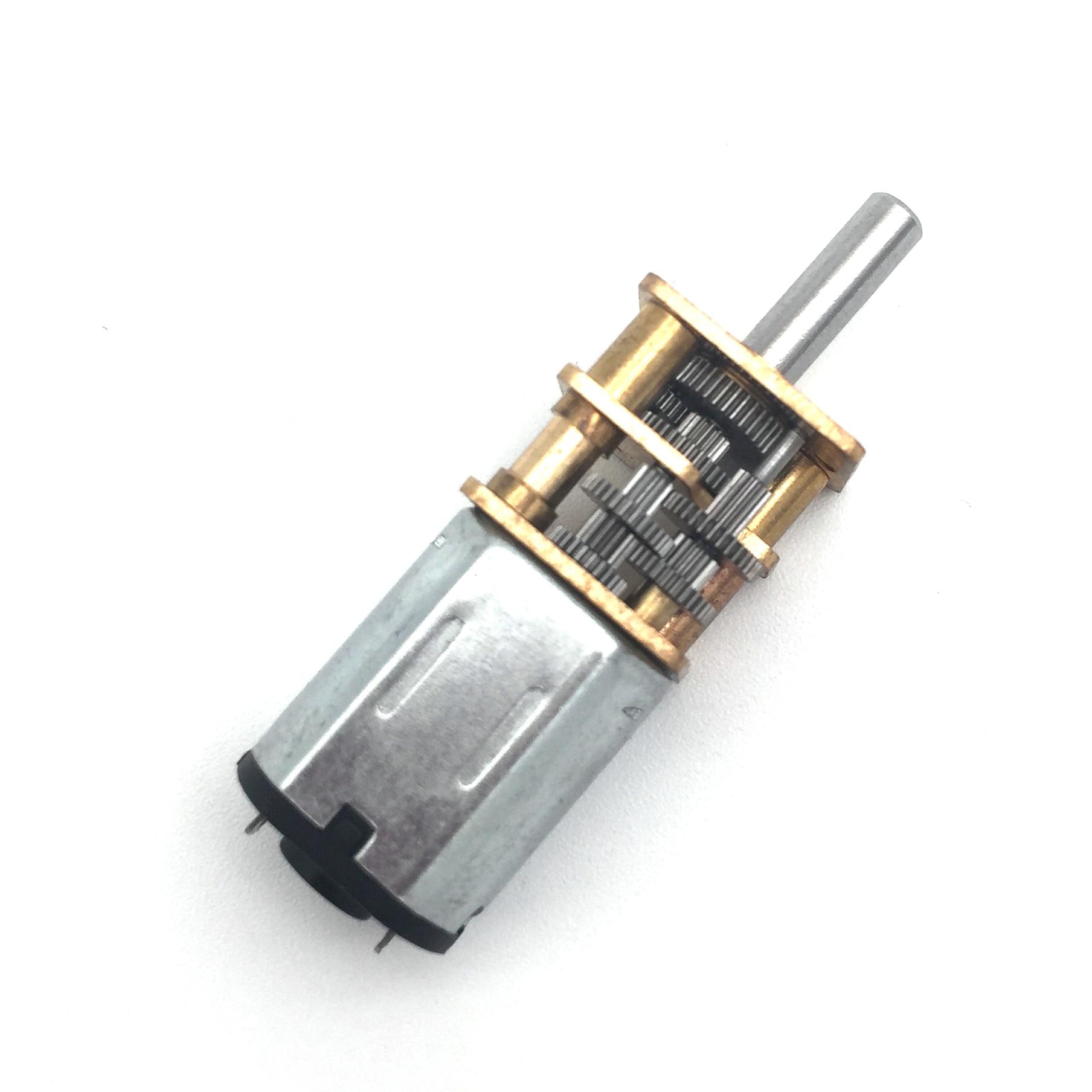 N20 500RPM DC6V Micro DC Geared Motor Powerful Electric Mini Deceleration Gear Reducer Motors Mayitr