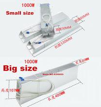 RXLG 1000 w tamanho Grande De Alumínio Shell 3R 4R 5R 10R 15R 20R 22R 25R 30R 40R 50R 60R 75R 90R 100R 130R 150R 200R 390R 750R