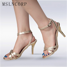 Plus Size 34-47 Fashion Women Sandals New Summer Buckle Strap High Heel Office Lady Pumps sexy Woman Shoes mujer golden silver new plus big size 34 46 sandals ladies platforms lady fashion dress shoes sexy high heel shoes women pumps b35