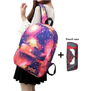 Female student school bags sta