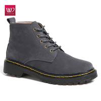 Vivident Snow Boot Genuine Leather Suede Shoes Women Classic Warm Martin Boots Winter Zapatos Mujer Lace