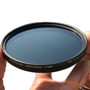Image 2 - Variable ND Filter ND2 400 Neutral Dichte Filter Fader Einstellbar 37/40. 5/43/46/49/52/55/58/62/67/72/ 77/82/86mm Optische Glas