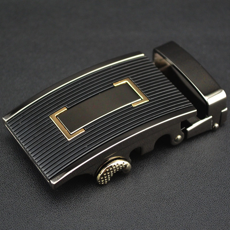 35mm Width Automatic Belt Buckle Luxury Belt Men Zinc Alloy Belt Buckle Head Business CE87520