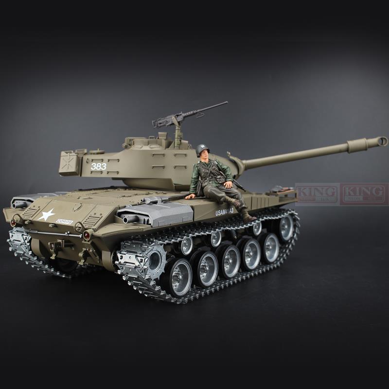 Henglong T3838 Ultimate 1/16 U.S.M41A3 RC tank Metal Gear/Tracks