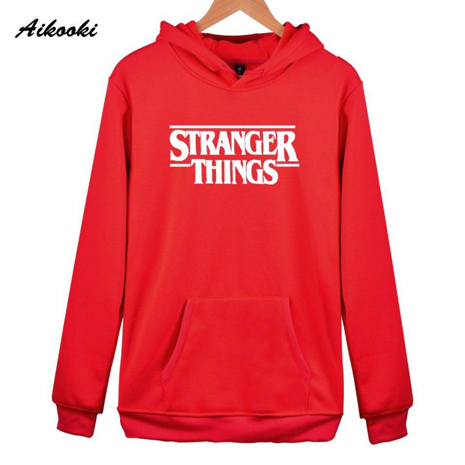 Hoodie Stranger Things Hoodies Sweatshirt women/men Casual Stranger Things Sweatshirts Women Hoodie Men's 40