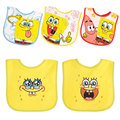 9 style SpongeBob Baby Bibs Cotton Newborn Waterproof infant towel Saliva Burp Cloths Feeding babeiro 5 pcs a lot