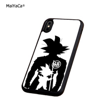 Dragon ball Z super goku soft silicone edge phone cases for apple iPhone x 5s SE 6 6s plus 7 7plus 8 8plus XR XS MAX cover case цена и фото
