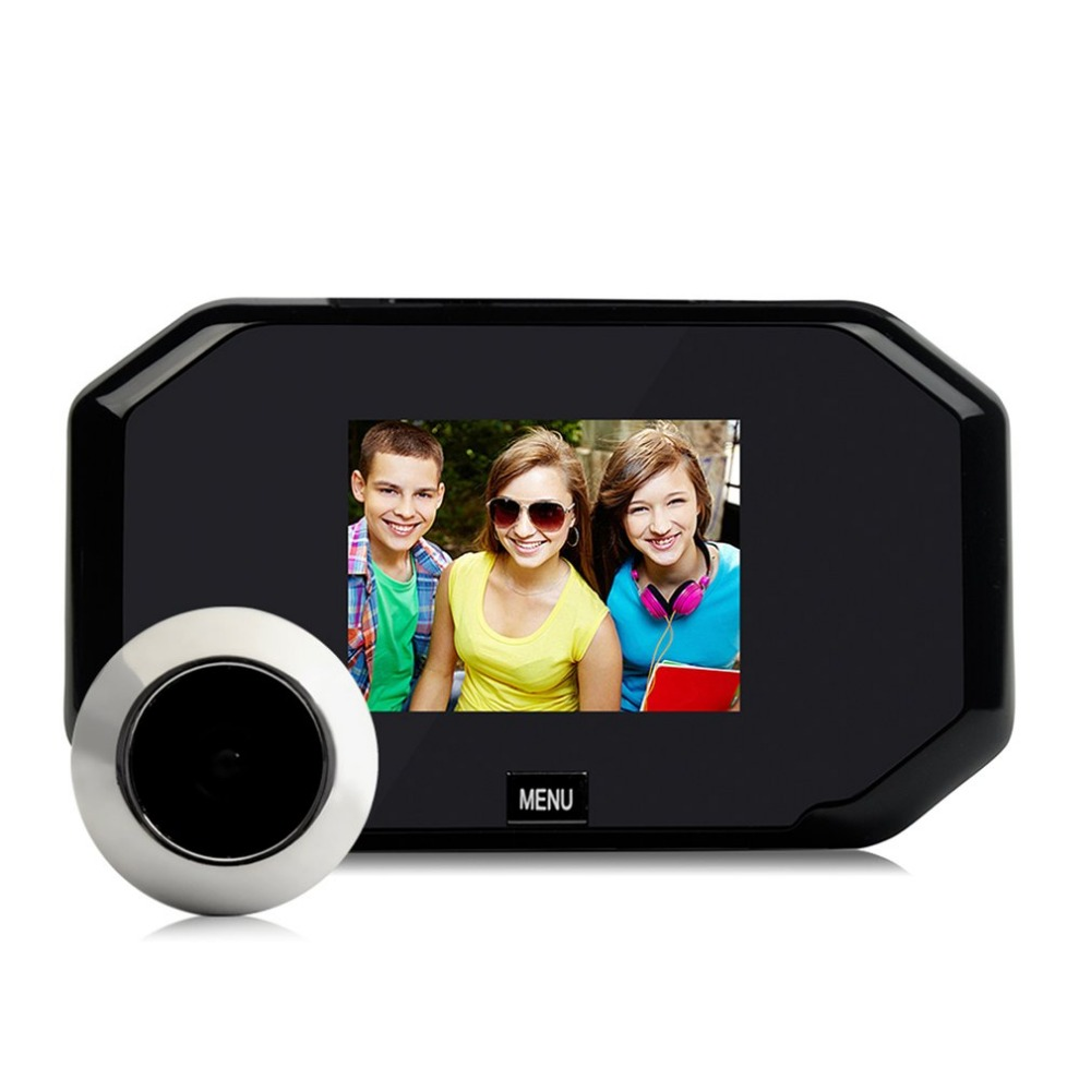 цена на 3.0 Inch TFT LCD Digital Camera Door Peephole Viewer wireless Doorbell Color Screen Video-eye Video Recorder Night vision