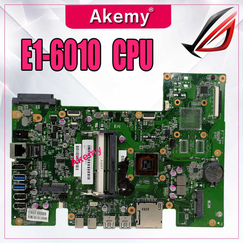 Akemy For Asus Et2030a Et2030 All In One Motherboard E1 6010 Cpu 90pt0131 R00000 Aliexpress