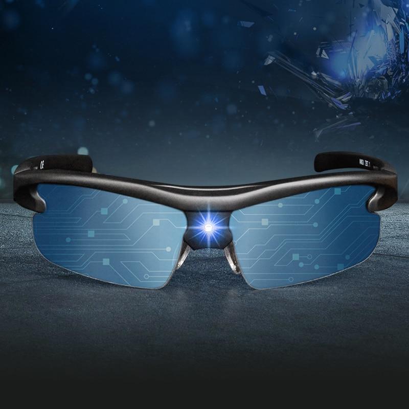 Safe Driving Shades Intelligent Sunglasses High Tech Photochromic Sun Glasses Man Polarized Sun Glasses Men Smart Glasses Sports