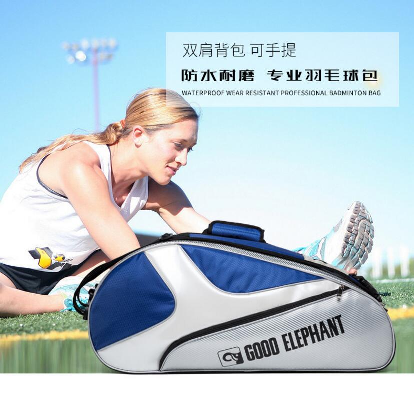 New and quality sports bag tennis and badminton bag can be waterproof and fireproof suitable for sports tour and fitness