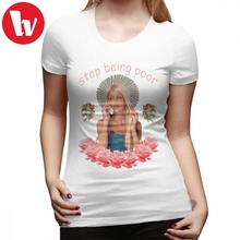 d5c5be7f0 Lindsay Lohan T-Shirt Paris Hilton Stop Being Poor T Shirt 100 Cotton  Street Style