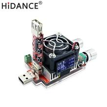 Double charge électronique réglable, 35W constant, déclencheurs QC2.0/3.0, testeur de tension rapide usb, voltmètre de décharge