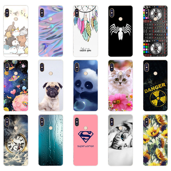 W silicone case For 5.99 inch Xiaomi Redmi Note 5 global pro Case Cover redmi note 5 Snapdragon 636 version note5 pro case image