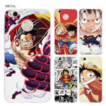 One Piece Monkey D Luffy TPU Transparent Soft Case Cover for Xiaomi