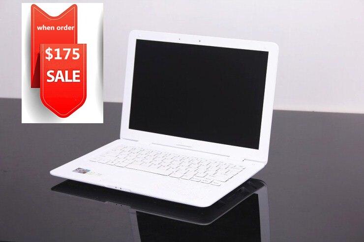 Бесплатная доставка дешевый 14 inch сверхтонкий ноутбук J1900 2.4 ГГц dual core камеры WI-FI