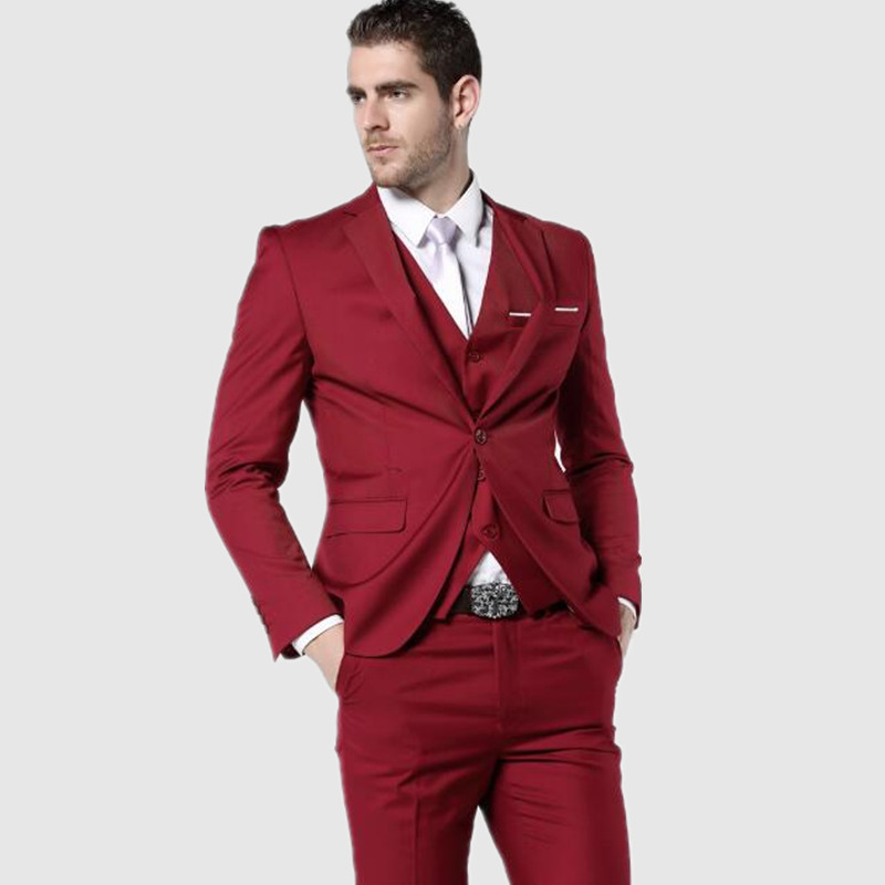 New York style high fashion suits with a full cut that come in the fashion vein may be considered some of the modern day Zoot Suits including mens church suits that have any or all kinds of creative details on it from inverted back pleats on the jacket to fancy pocket flaps or even leather trim. Exotic fashion suits for men may come in fabrics.