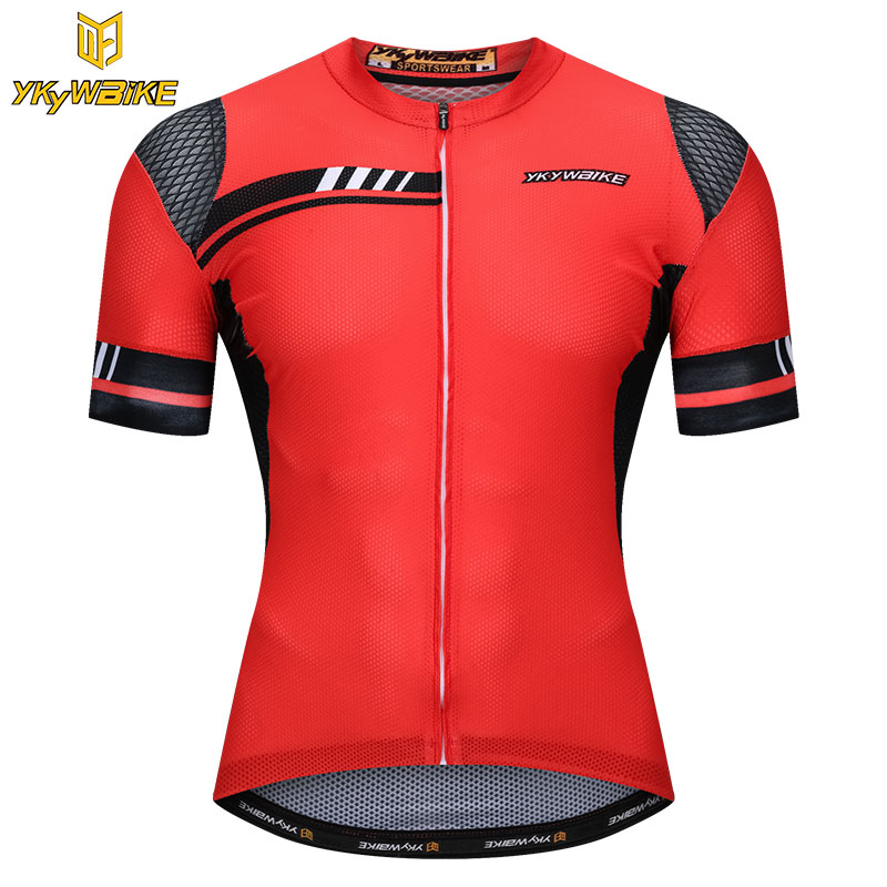 YKYWBIKE 2018 Pro Cycling Jersey Mtb Bicycle Clothing Bike Wear Clothes Short Maillot Roupa Ropa De Ciclismo Hombre Verano hot cheji men bike long jersey pants sets hornets black pro team cycling clothing riding mtb wear long sleeve shirts