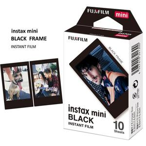 Image 5 - עבור Fujifilm Instax מיני 9 11 מצלמה Instax מיני סרט חבילה 30 גיליונות מיידי תמונות שמיים כחול, ורוד לימונדה, שחור מסגרת