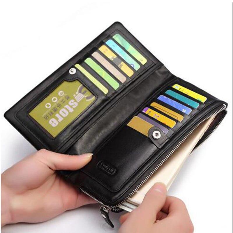 de cavalo louco Interior : Bolso Interior do Entalhe, note Compartment, suporte de Cartão, coin Pocket, photo Holder, compartimento Interior