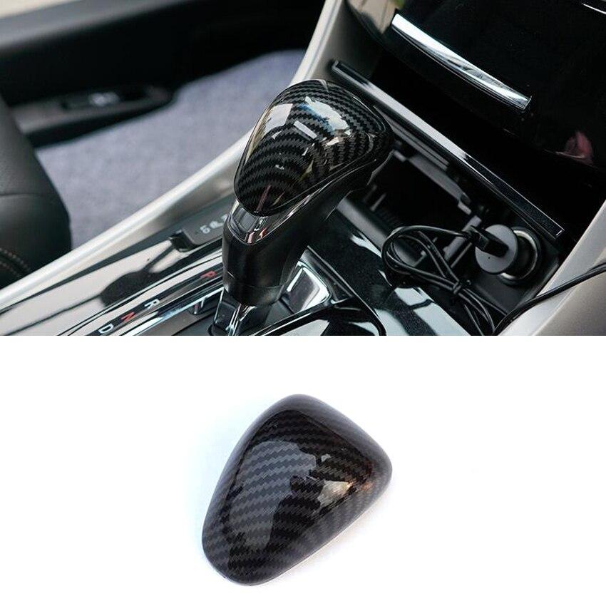 ABS Chrome Inner Gear Shift Knob Cover Trim For Toyota RAV4 2013-2016 2017 2018