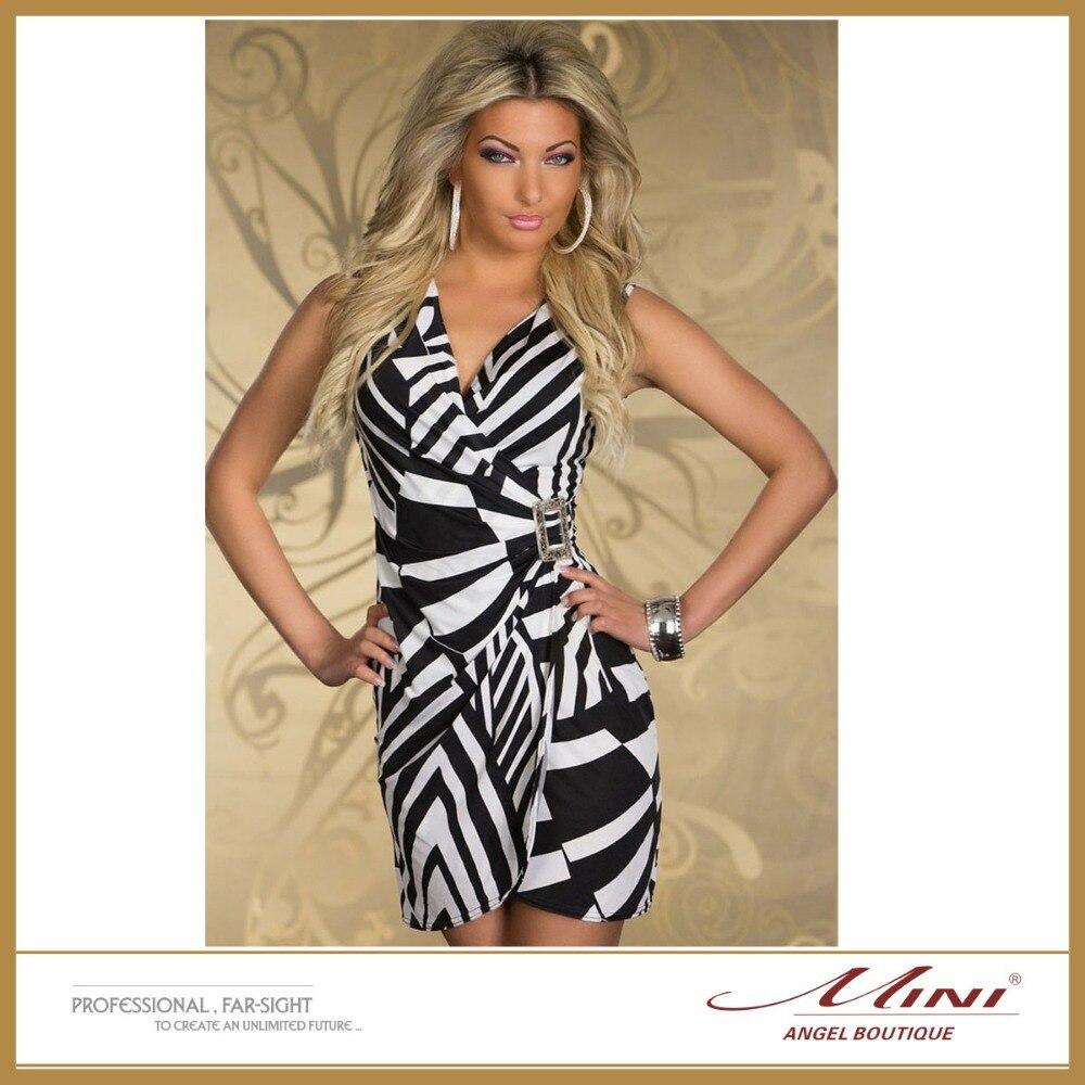 Sexy zebra dress