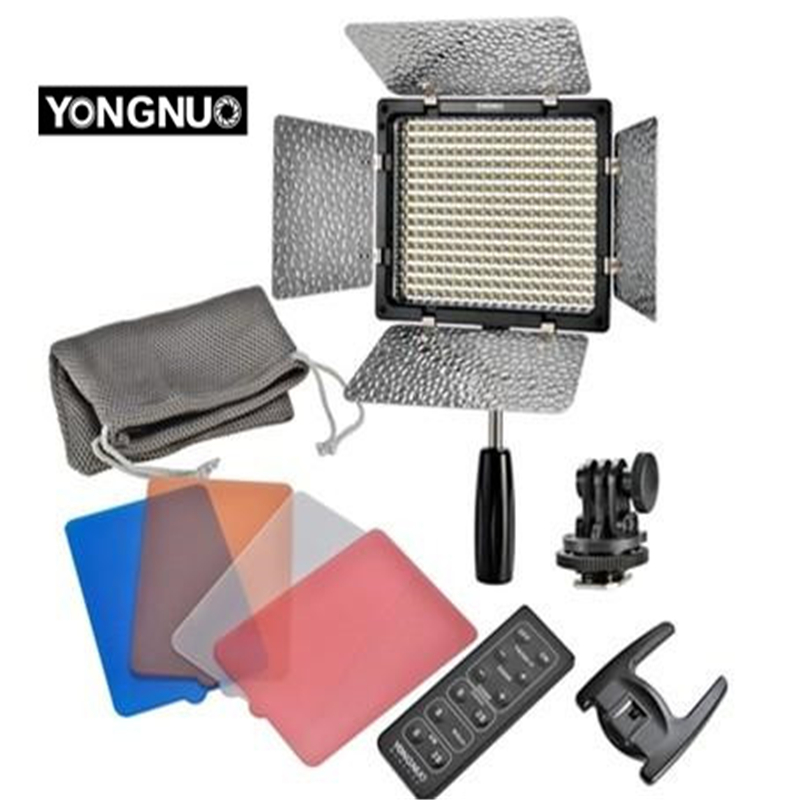 Yongnuo YN-300ii YN300ii LED Video Işık Aydınlatma Canon Nikon - Kamera ve Fotoğraf - Fotoğraf 1