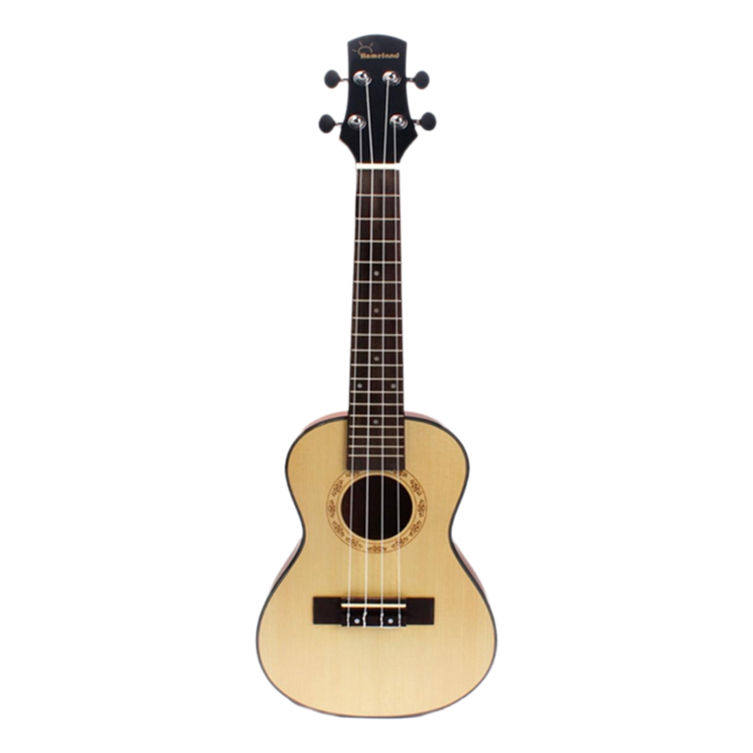 24 Compact Ukelele Hawaiian Spruce Top Mahogany Aquila Rosewood Fretboard Bridge Stringed Instrument 4 Strings with Gig Bag 12mm waterproof soprano concert ukulele bag case backpack 23 24 26 inch ukelele beige mini guitar accessories gig pu leather