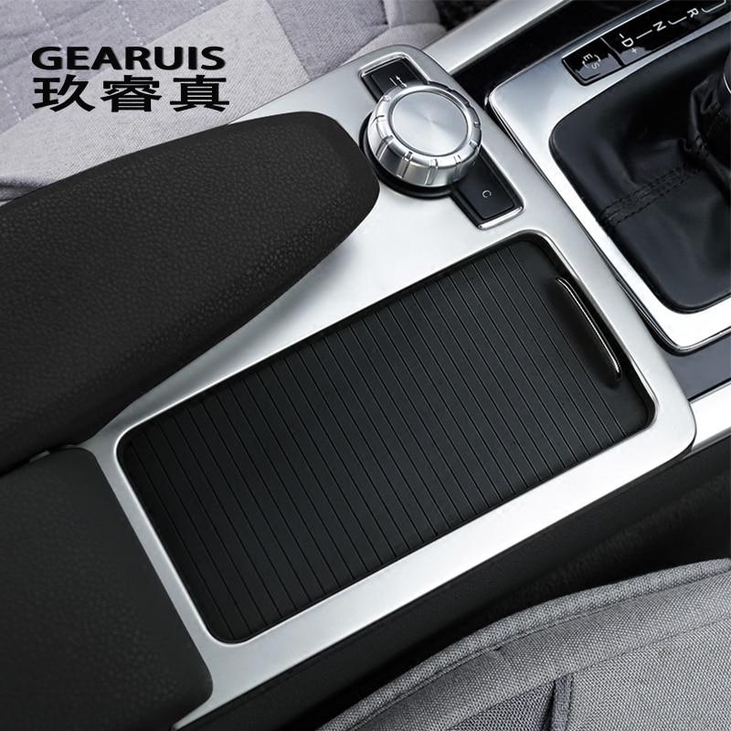 Auto Styling innen Tasten panel Dekoration Abdeckung Aufkleber Trim Für Mercedes Benz C klasse W204 2008-10 LHD RHD auto Zubehör