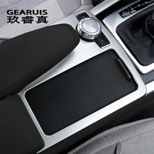 Embellecedor de cubierta de panel de decoración de botones interiores para Mercedes Benz Clase C, W204, 2008-10 LHD RHD, accesorios para automóviles