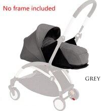 Новорожденная коляска-гнездо для сна, корзина для коляски, аксессуары для Babyyoya Babyzen yoyo+ Yoya, детская коляска-трон, зимняя сумка