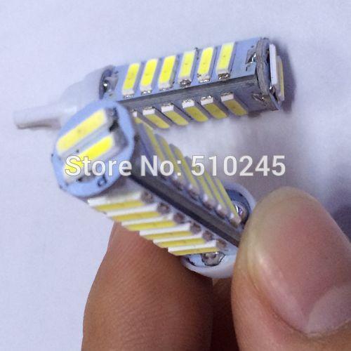 100X w5w 194 T10 20 led SMD 7014 t10 20smd Wedge Car Auto LED Light Bulb Lamp White free shipping