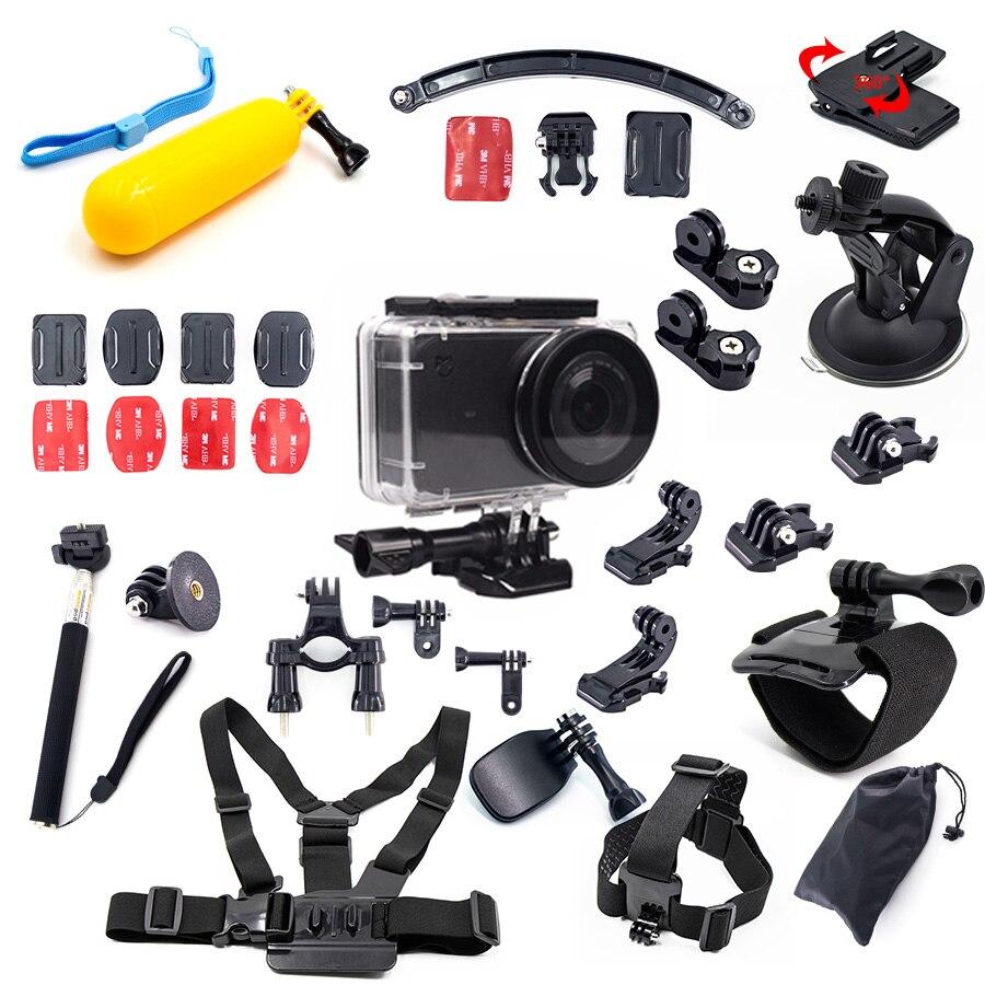 Mijia étanche maison boîtier accessoires kit sous-marin boîte flotteur pour xiaomi mijia petite mini action sport caméra kit