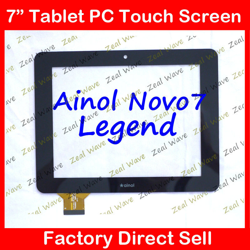 7 lcd touch screen digitizer touch panel for Ainol novo7 Legend tablet pc c177137a1 C177137A1-PG FPC647DR Free Shipping