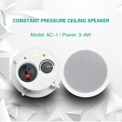 Ceiling Speaker home background music systems stores for smart home audio