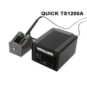 Image 5 - الأصلي سريعة TS1200A خالية من الرصاص لحام محطة اتصال ذكي 120 W 110 V 220 V SMD آلة لحام