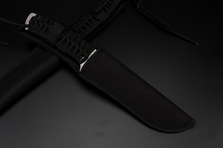 Купить с кэшбэком 2020 New Free Shipping Camping Hunting Tactics Survival Fixed Knife Outdoor Portable Combat Rescue Military Knives EDC Tools