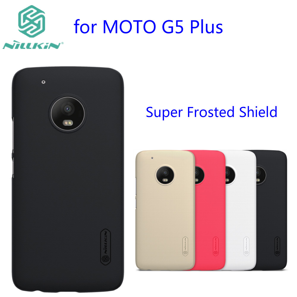 quality design 4041b f7245 US $7.57 |for Moto G5 Plus cover Case NILLKIN Super Frosted Shield matte  hard back cover case for Motorola Moto G5 Plus-in Fitted Cases from ...
