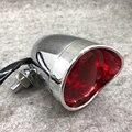 Алюминиевый Ретро стоп-сигнал для мотоцикла хромированный/черный задний фонарь для мотоцикла индикатор для крейсера чоппера поплавок кафе...