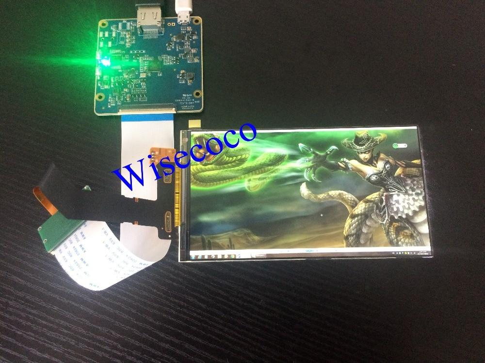 Nouveau 6 pouce 2560*1440 2 K LS060R1SX02 LCD Module Écran VR La Réalité virtuelle DIY DLP Projecteur Kit SLA Imprimante 3D Moniteur 1440 P