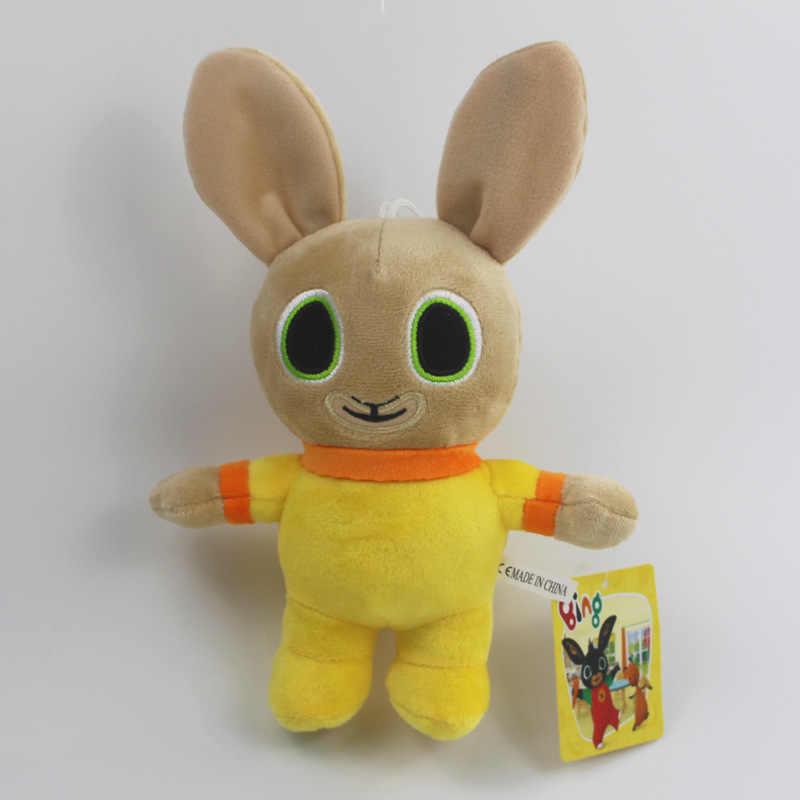 Bing coelho brinquedo de pelúcia pingente clipe chaveiro bing coelho boneca brinquedo hoppity voosh recheado animal pando coelho brinquedo para presentes de natal