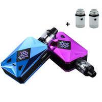 100 w vape kit m6 100 w caixa mod com 2600mah bateria 4.0ml tanque vaporizador vape caneta cigarro eletrônico vaper kit