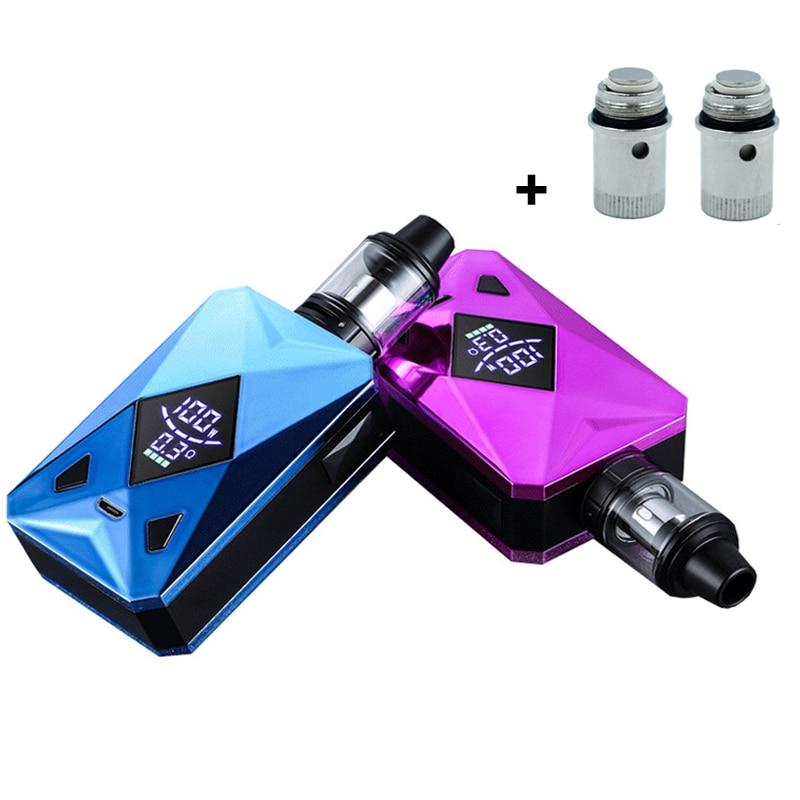 100W Vape Kit M6 100W Box Mod With 2600mah Battery 4.0ml Tank Vaporizer Vape Pen Electronic Cigarette Vaper Kit
