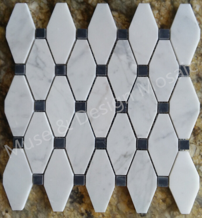 Octagon Floor Tile octagonal tile floor w center floral motif click to enlarge Aliexpresscom Buy Octagon Carrara White Marble Mosaic Tiles For Kitchen Backsplash Bathroom Wall Tile Sticker Floor Tiles From Reliable Tile For Walls