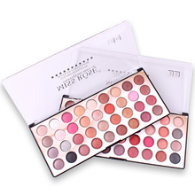 MISS ROSE 36 Color Eyeshadow 3D Colorful Waterproof Eye Shadow Palette Makeup Eye Shadow Palette Private Label Cosmetics