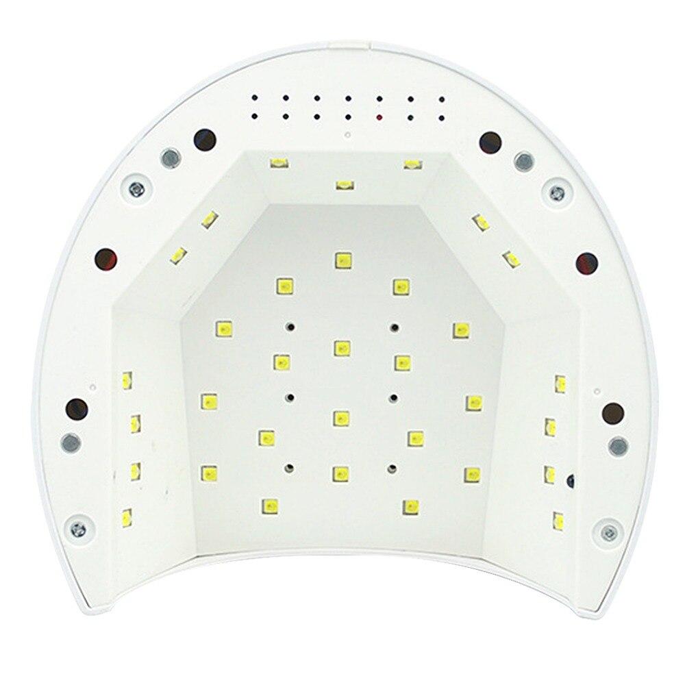 unhas sensor infravermelho temporizador configurações manicure máquina lâmpada led